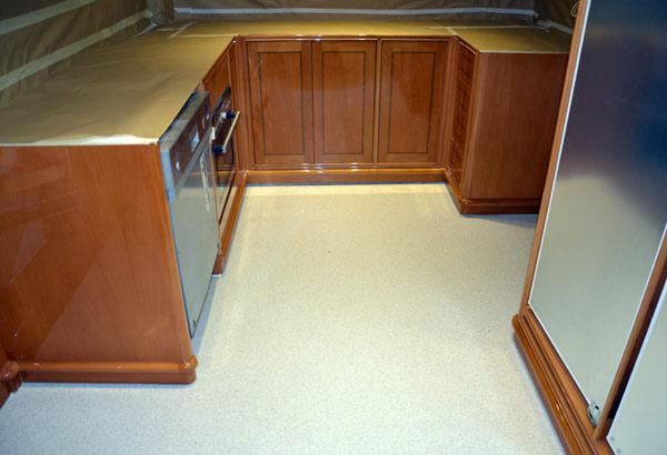 Fully Equipped Galley On The Main Deck