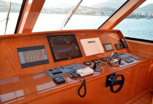28 m Steel Aegean Yacht Motoryacht Nimir Flybridge