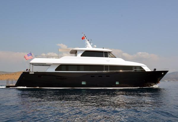 28 m Steel Aegean Yacht Motoryacht