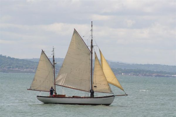 Gaff Rigged Sailboat For Sale http://bjmarine.net/boats/used/boat-details.php?BoatID=590824