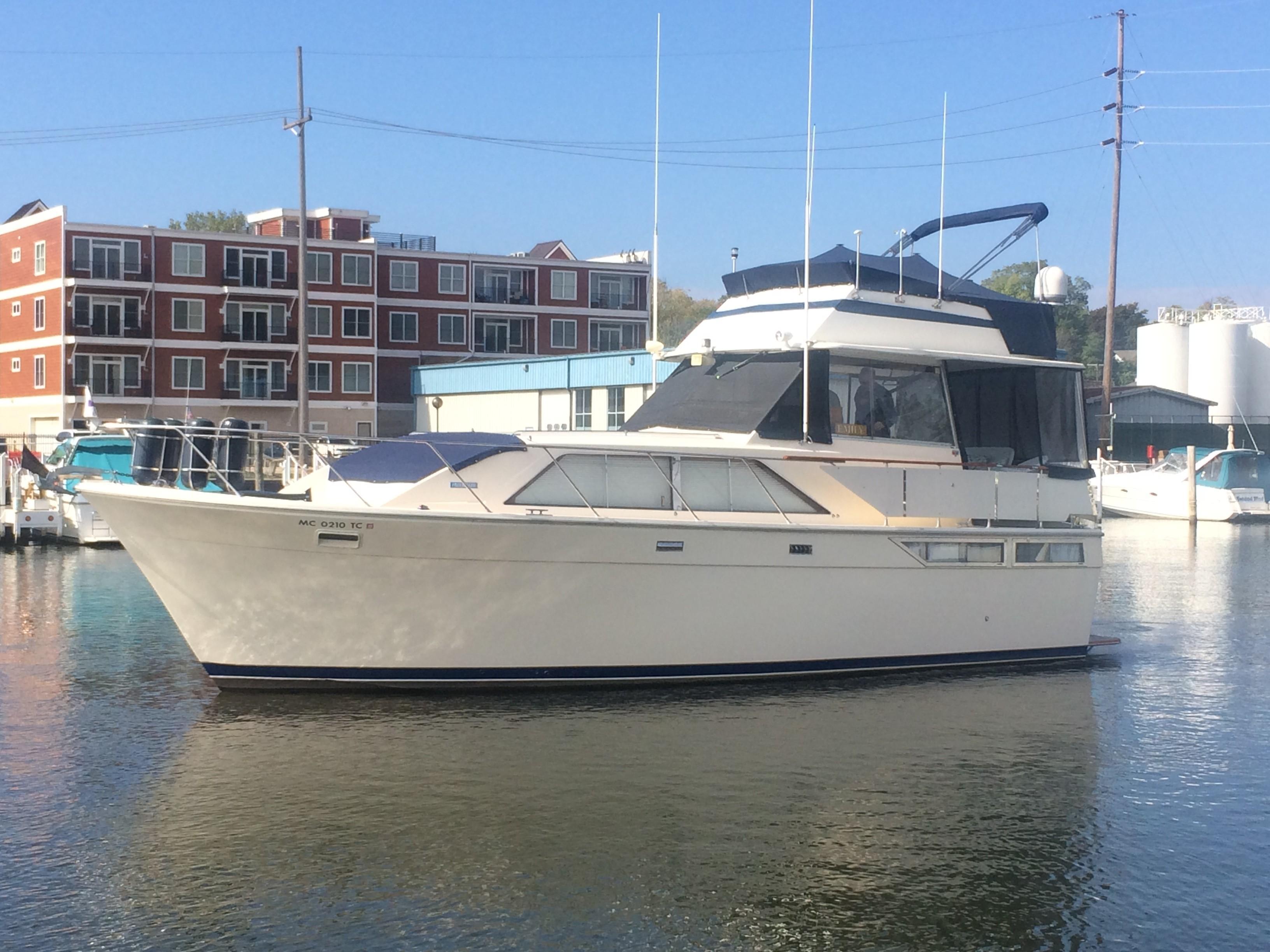 Pacemaker 40 Flybridge Motoryacht