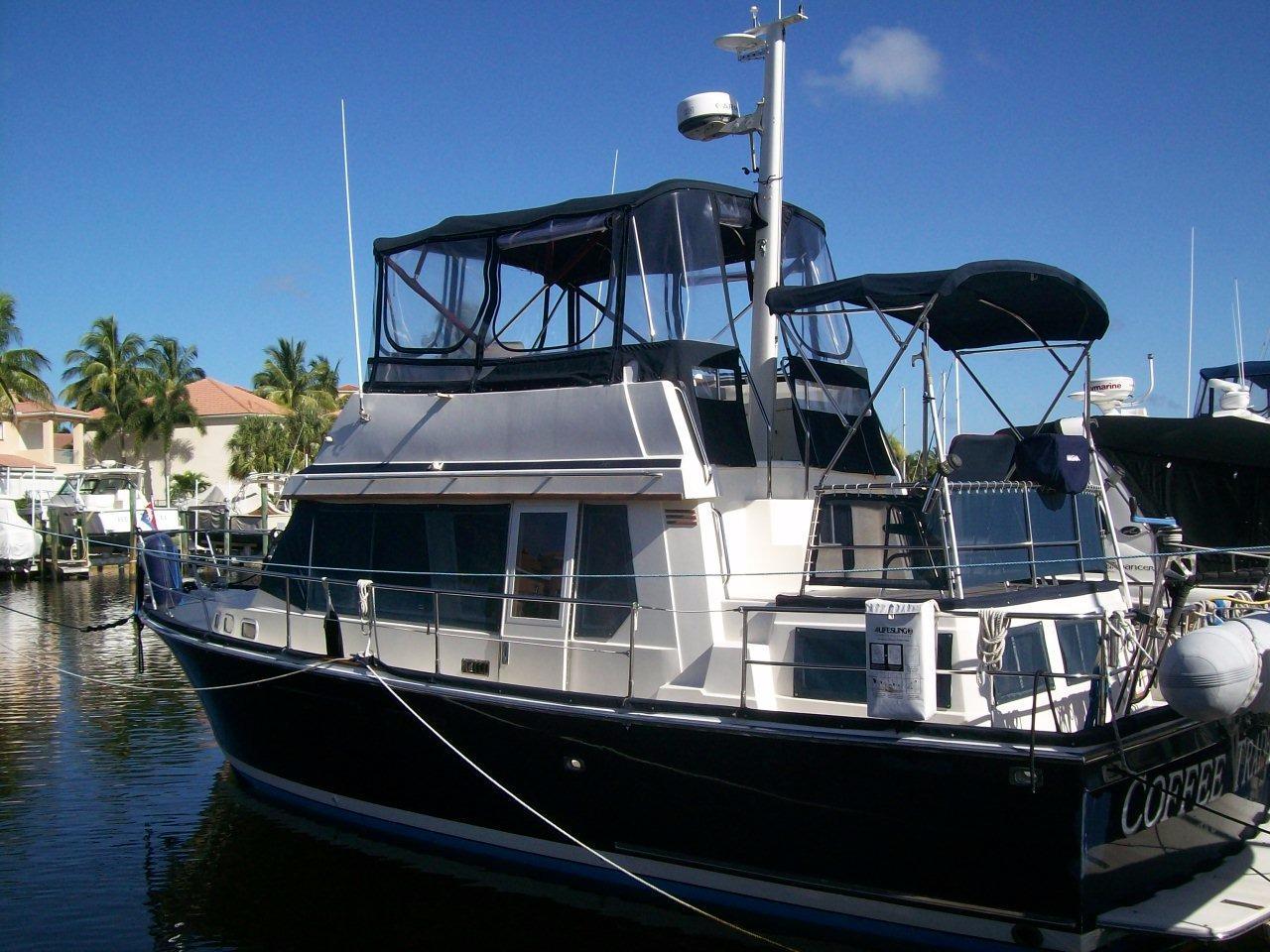 36' Sabreline 1995 Fast Trawler