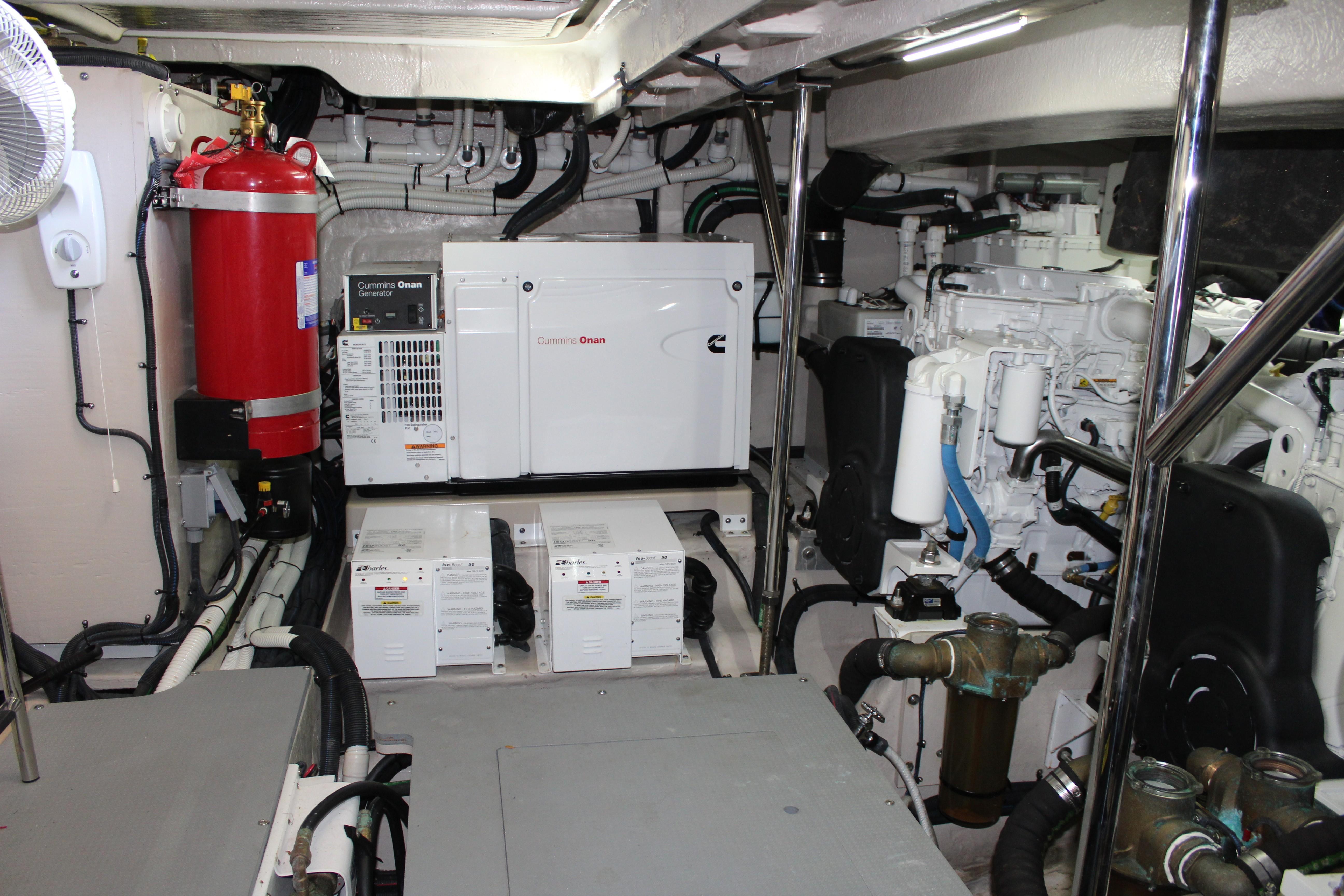generator with Seakeeper below