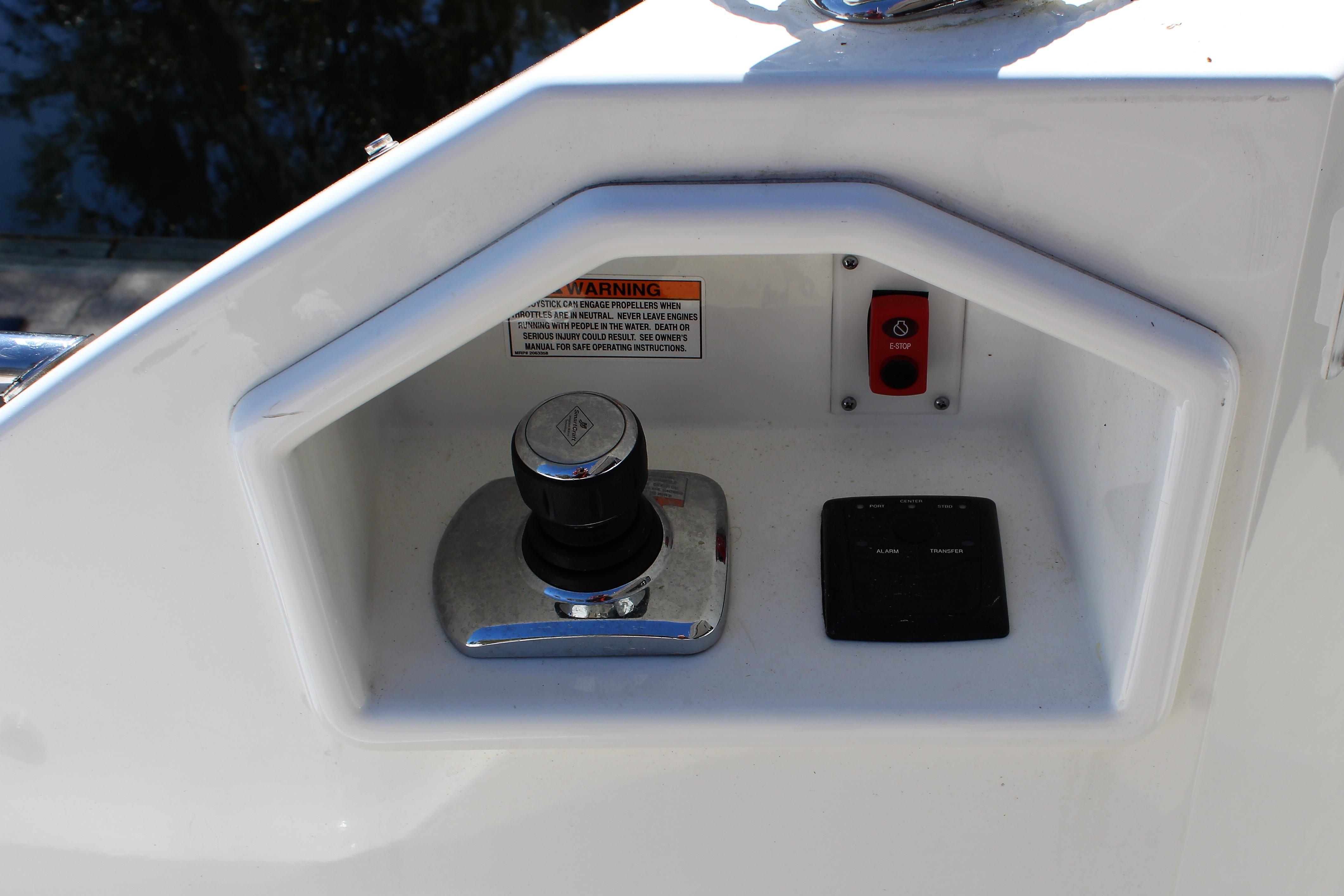 cockpit joystick control