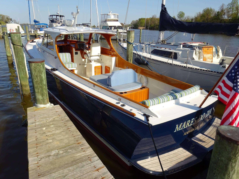 2001 Picnic Boat Classic MARES DO DIA | David Walters Yachts