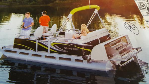 2018 APEX PONTOONS 614 FAMILY CRUISE (PADDLE) for sale