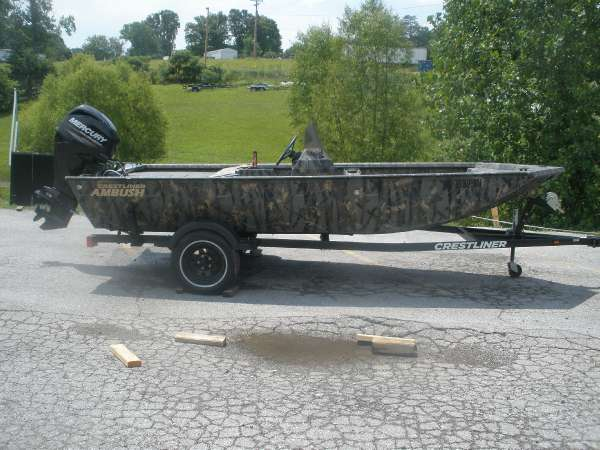 2013 CRESTLINER AMBUSH 16 for sale