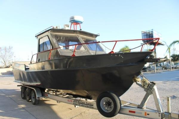 2002 Homemade boat for sale, model of the boat is 29 Aluminum Cabin Cruiser & Image # 4 of 20