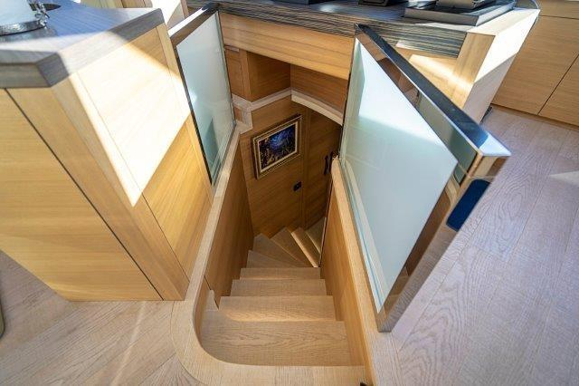 Stairs to Companionway