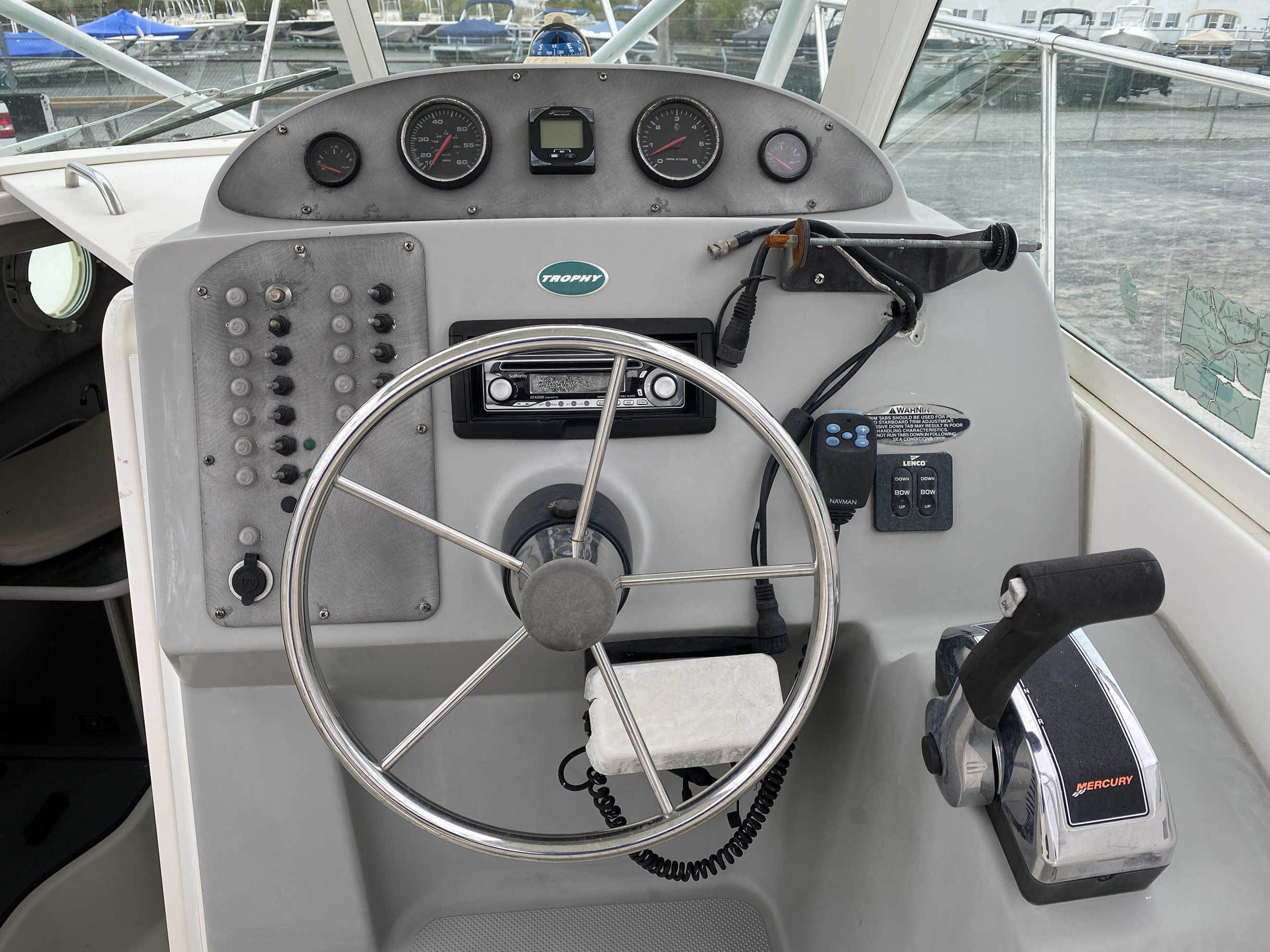 2005 Trophy Marine boat for sale, model of the boat is 2302 Walkaround & Image # 10 of 17