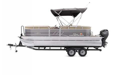 2020 Sun Tracker boat for sale, model of the boat is Party Barge 20 DLX & Image # 24 of 39