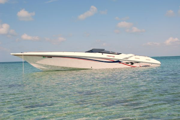 Fountain 35 Executioner High Performance Boats. Listing Number: M-3658052