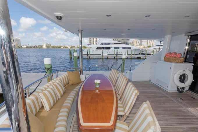 Aft Deck Looking to Port