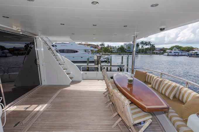 Aft Deck Looking to Starboard