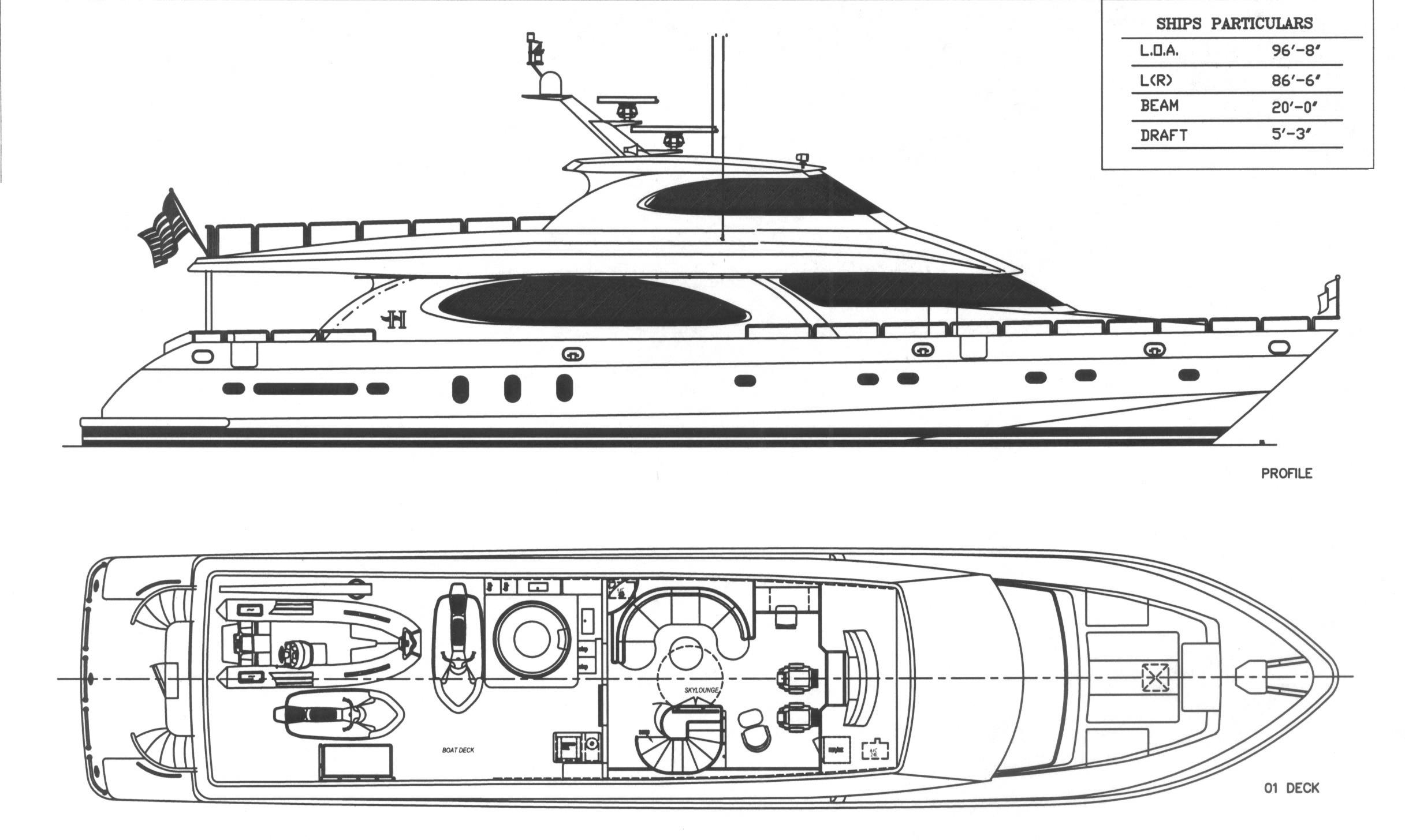 Profile and Upper Deck