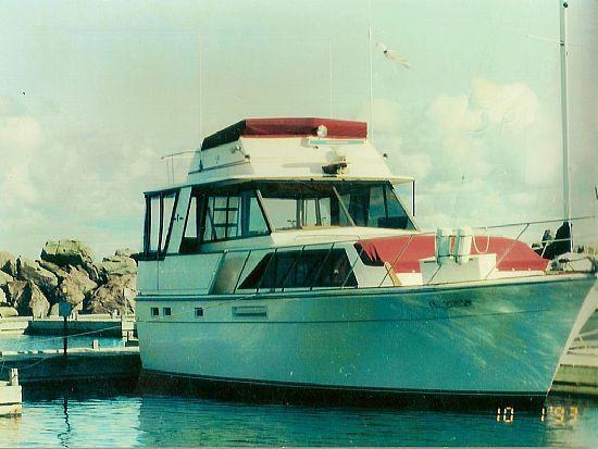 40' Egg Harbor Motor Yacht