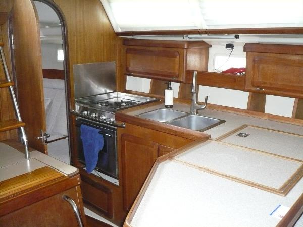 Showing Aft Stateroom Open And Airy !