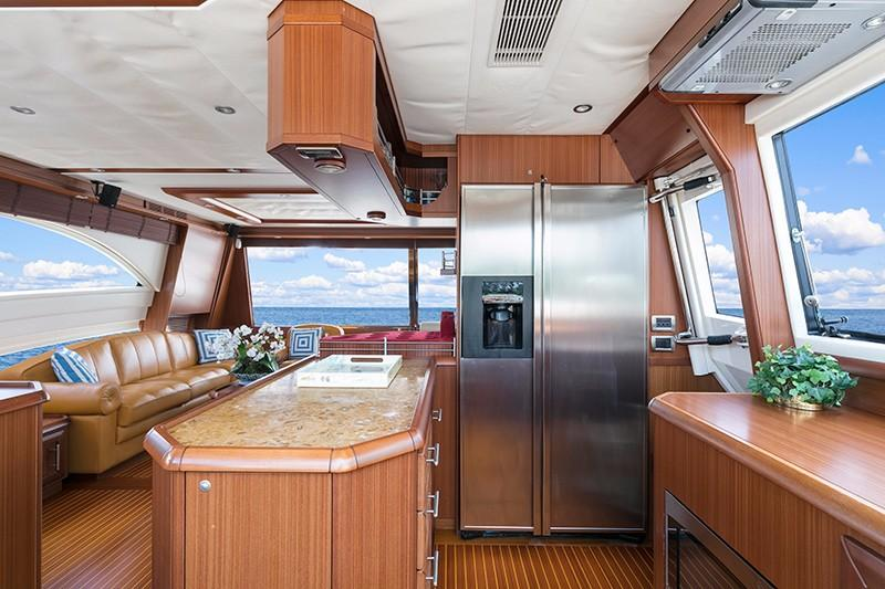 74' Mochi Craft Galley
