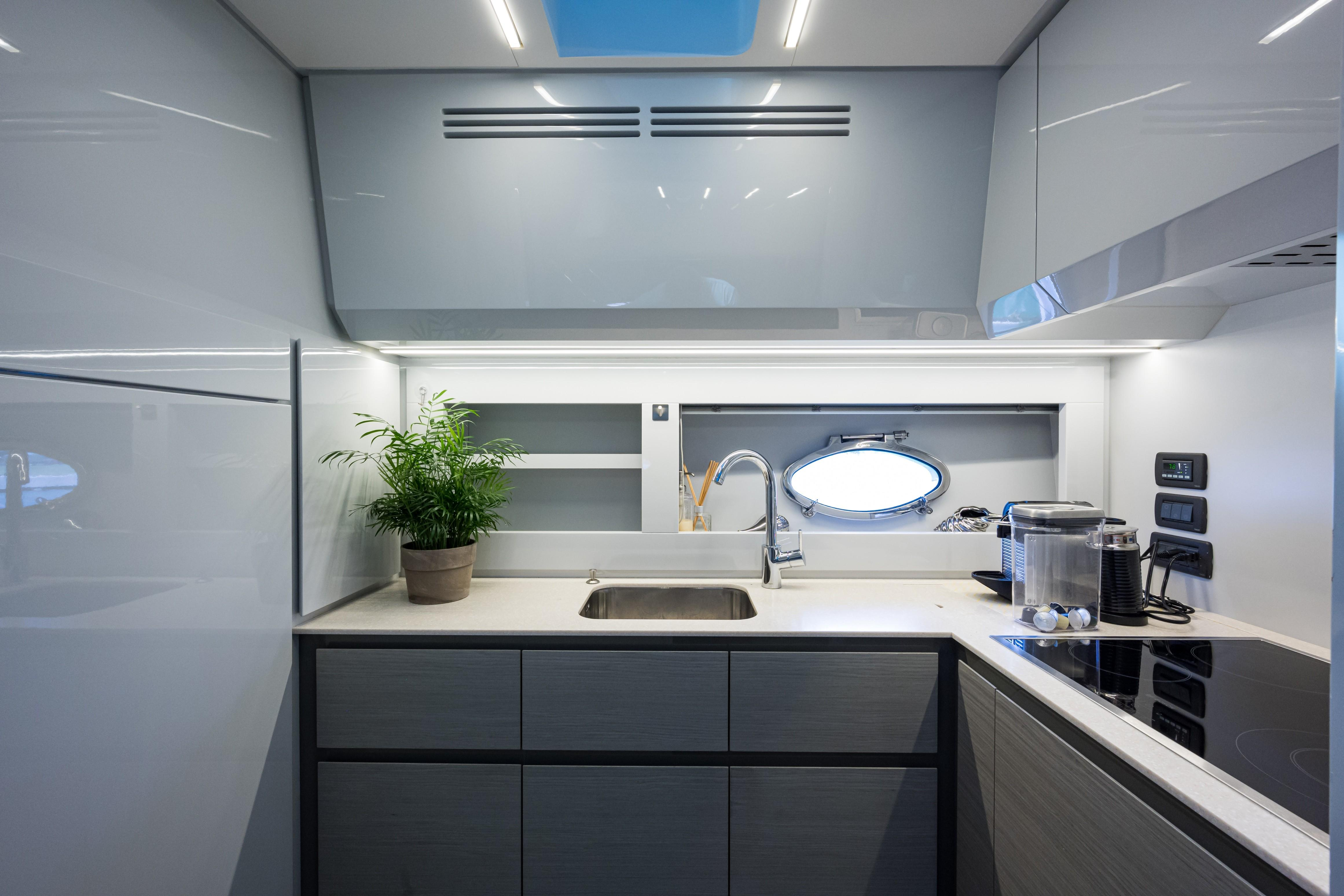 2016 Pershing 62 - Galley