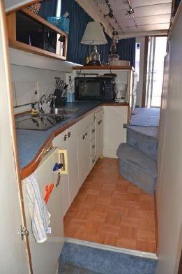Bertram Convertible - Galley