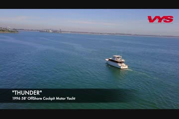 Offshore Yachts Flush Deck Motor Yacht video