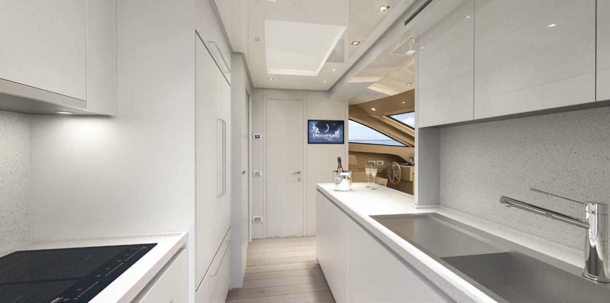 Sanlorenzo SL86 Galley
