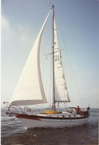 Cabo Rico 38 comparable to Island Packet