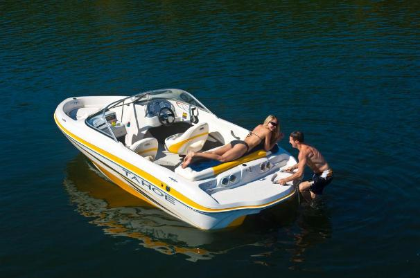 2011 Tahoe boat for sale, model of the boat is Q4 SS & Image # 6 of 16