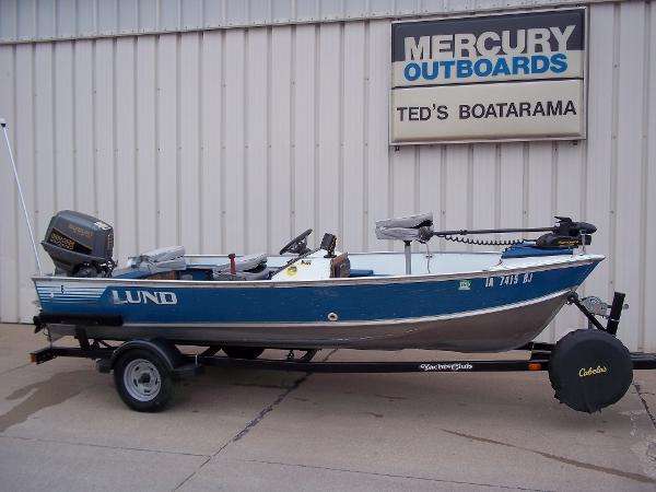 1987 LUND 16' MR PIKE for sale