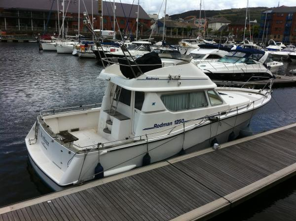 Rodman Sportfisher 1250 Boat For Sale