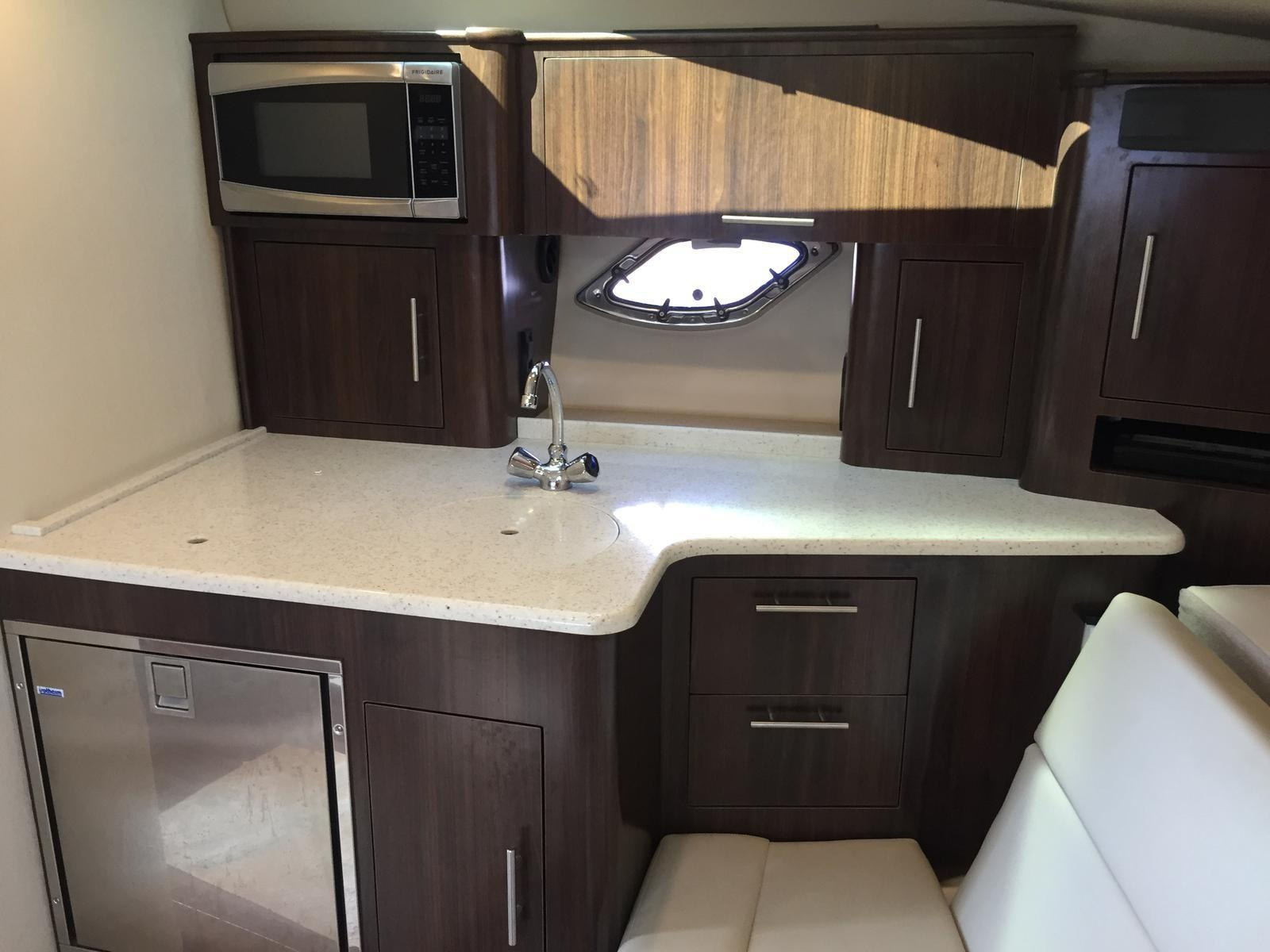 Regal 35 Sport Coupe - Galley