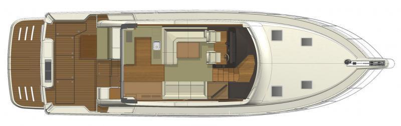 Riviera 515 SUV Deck Layout
