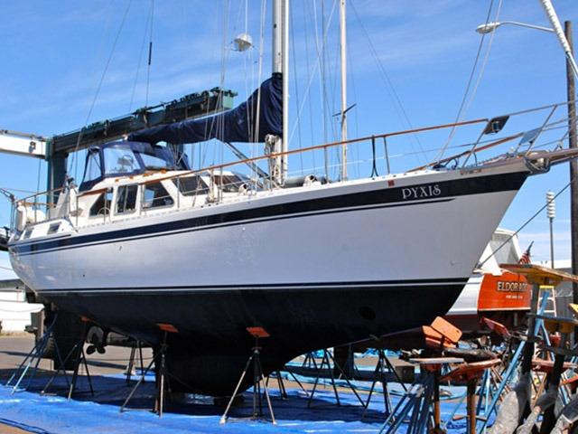 1985 Nauticat 40 Pilothouse Cutter