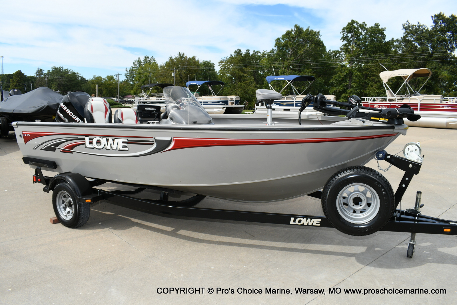 2008 Lowe boat for sale, model of the boat is FM175S & Image # 117 of 200