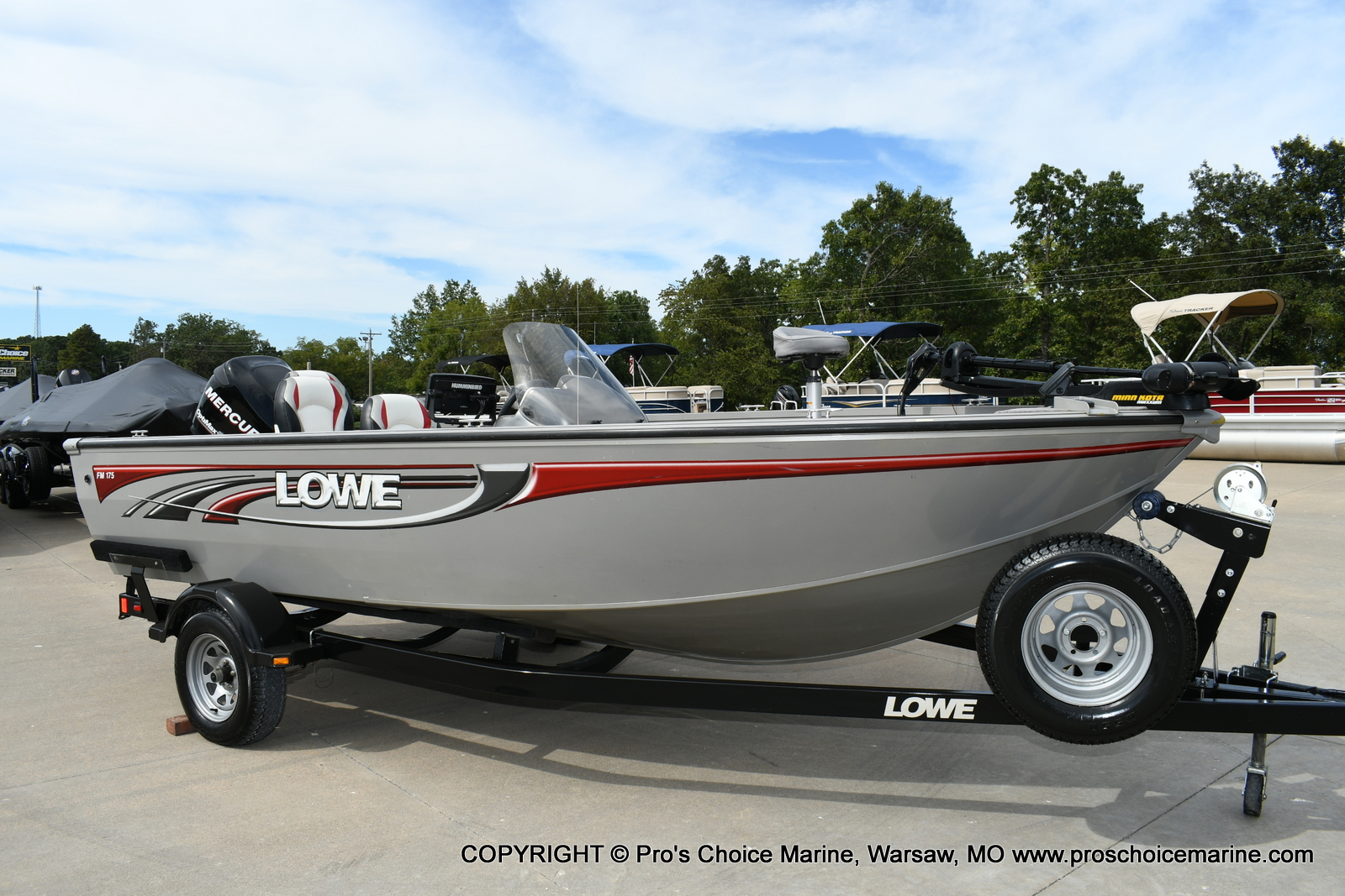 2008 Lowe boat for sale, model of the boat is FM175S & Image # 181 of 200
