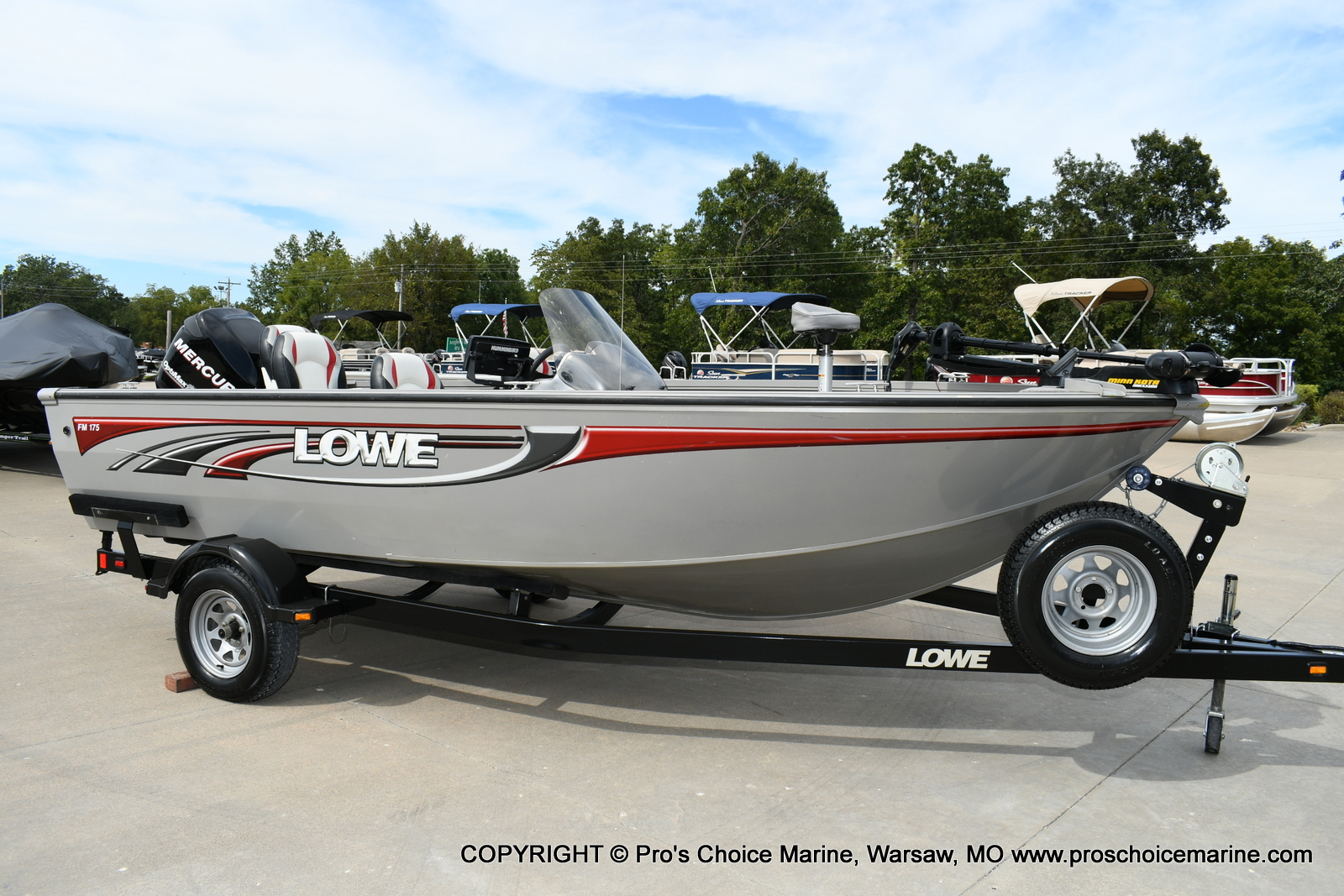 2008 Lowe boat for sale, model of the boat is FM175S & Image # 33 of 200