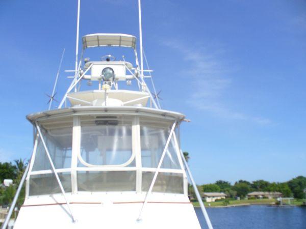 Enclosed Bridge With Tuna Tower