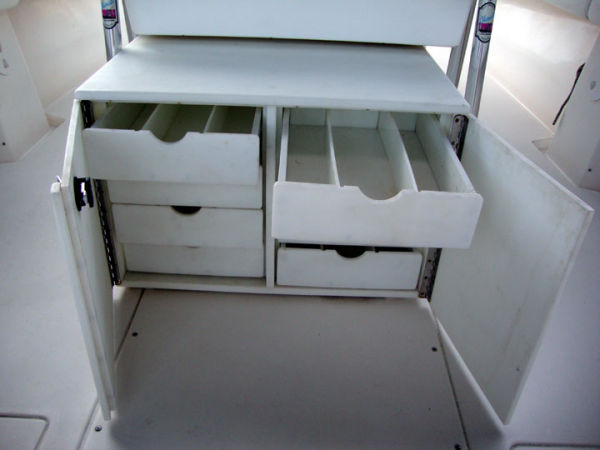 Helm Console With Enclosures