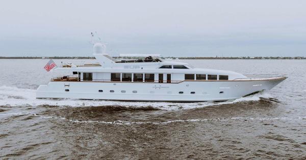 118' Broward Raised Pilothouse Motor Yacht