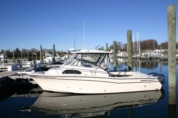 Grady White Marlin 300 Brewer Spring Boat Show CT Saltwater Fishing