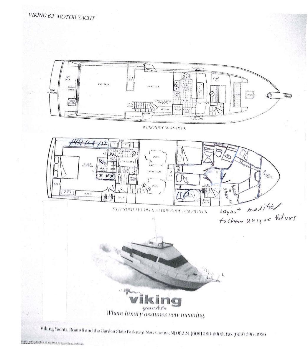 63 Viking Anamari 1989 San Juan | Denison Yacht Sales