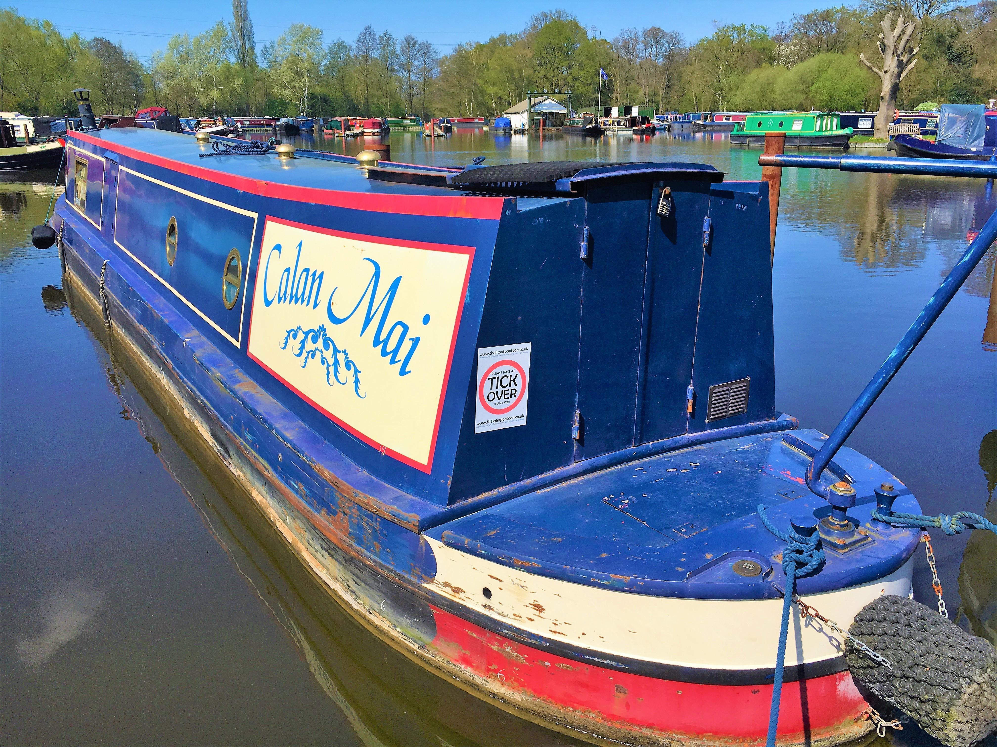 Narrowboat Heron Boatbuilders 45'