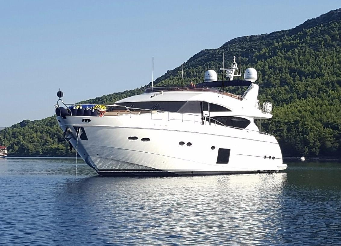Used princess 85 motor yacht motor yacht for sale for 85 viking motor yacht