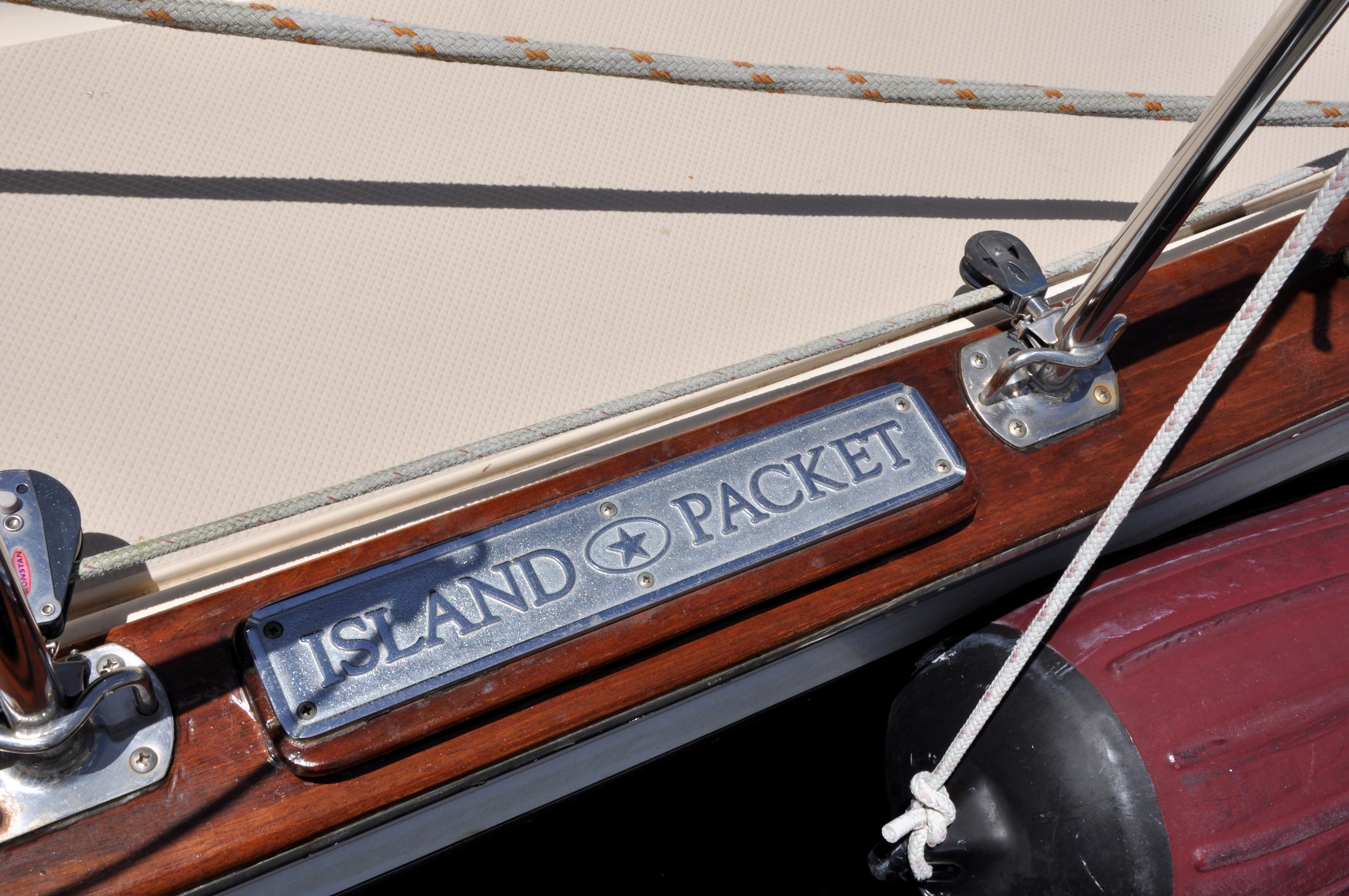 ISLAND PACKET STEP PLATES