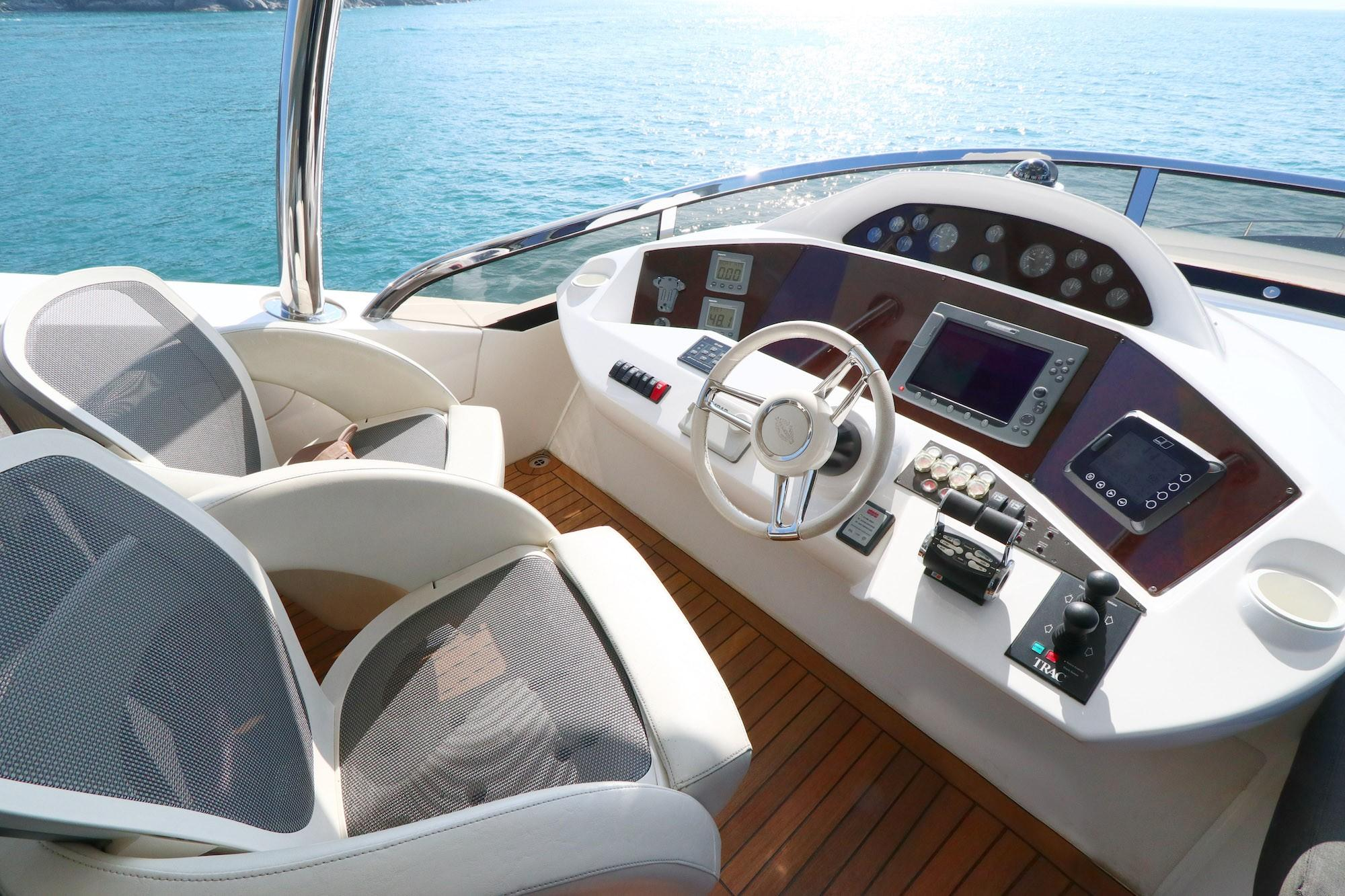 Sunseeker 88 - Helm