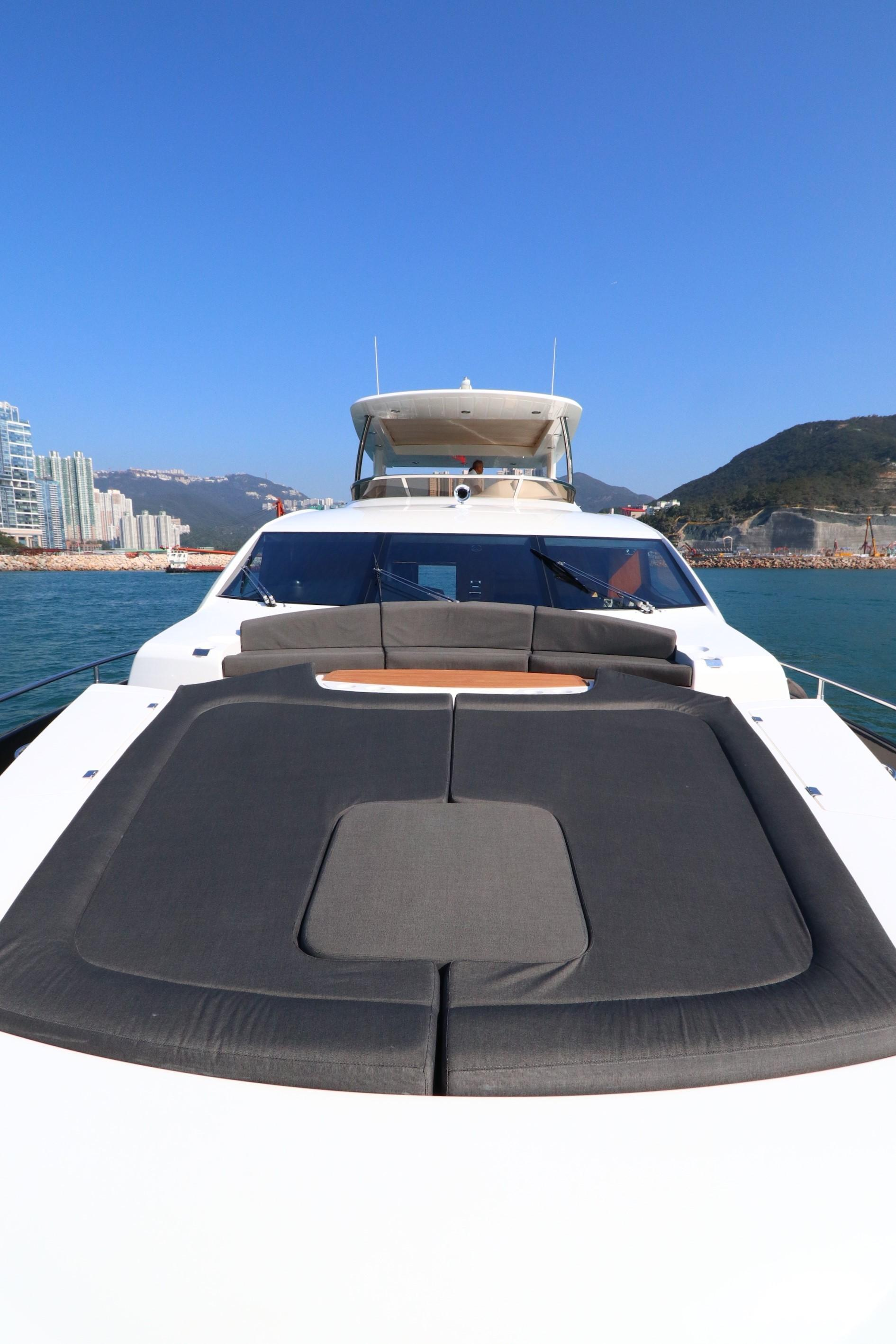 Sunseeker 88 - Bow Sunpads & Seating