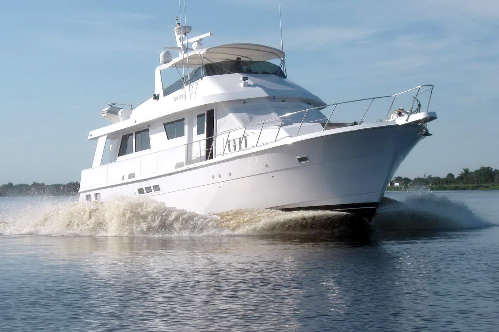 70 hatteras 1991 beatrice for sale in fort lauderdale for Large motor yachts for sale