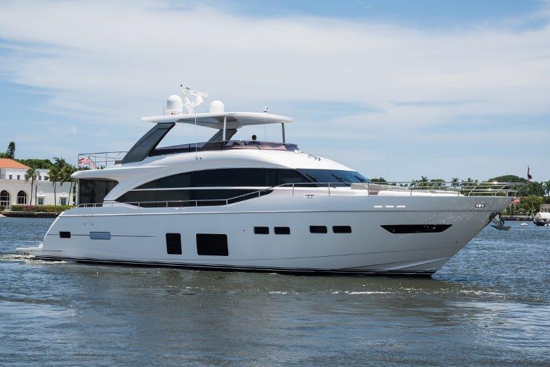 2019 75 Princess Motor Yacht