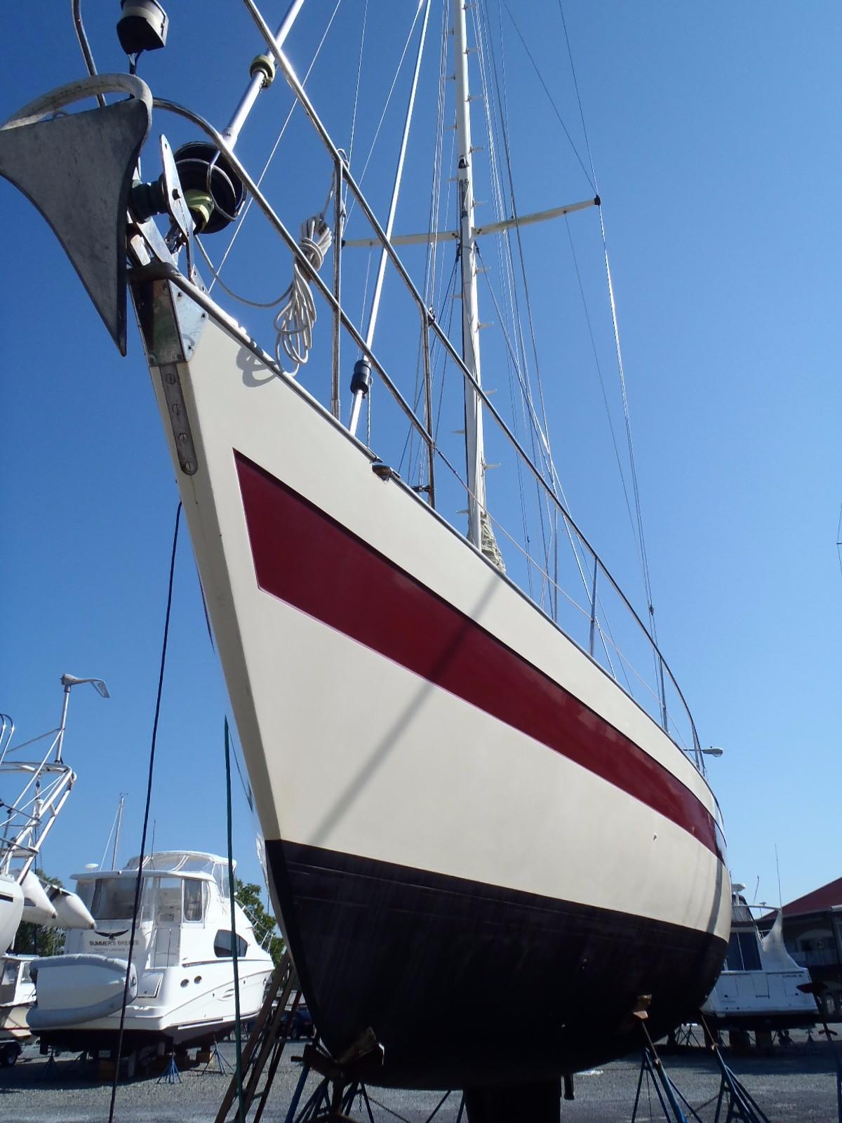 1983 447 CC Cutter Sunflower   David Walters Yachts