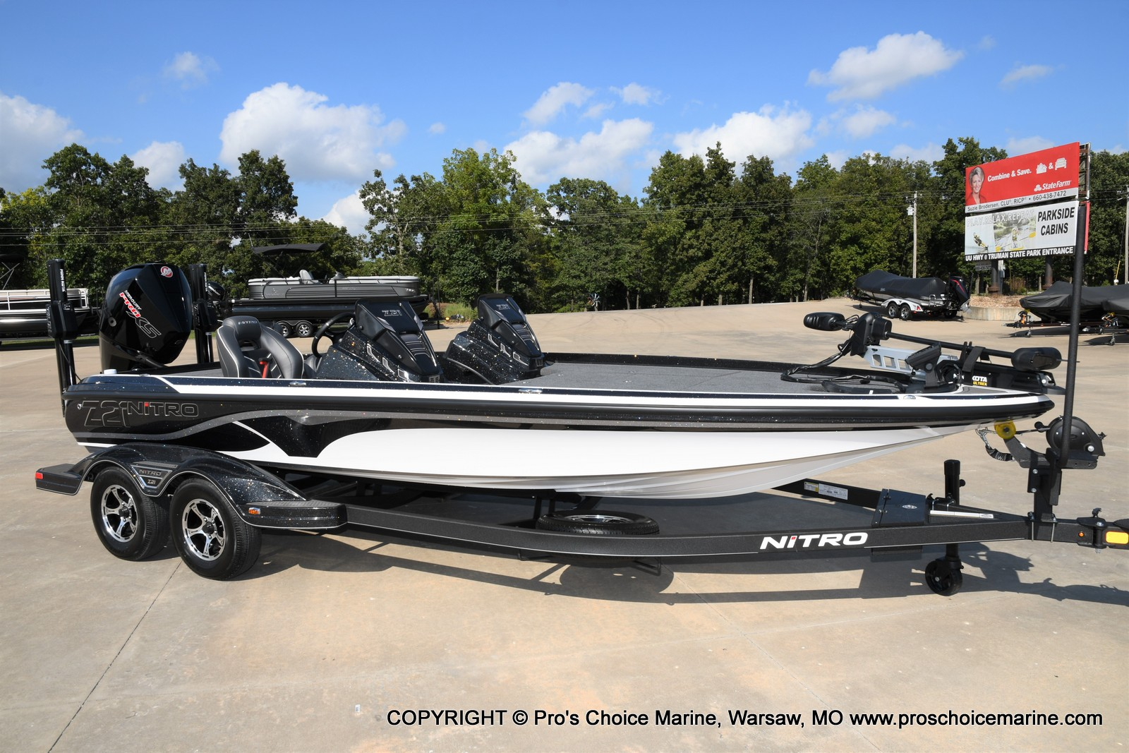 2021 Nitro boat for sale, model of the boat is Z21 Pro Package DUAL CONSOLE & Image # 1 of 50